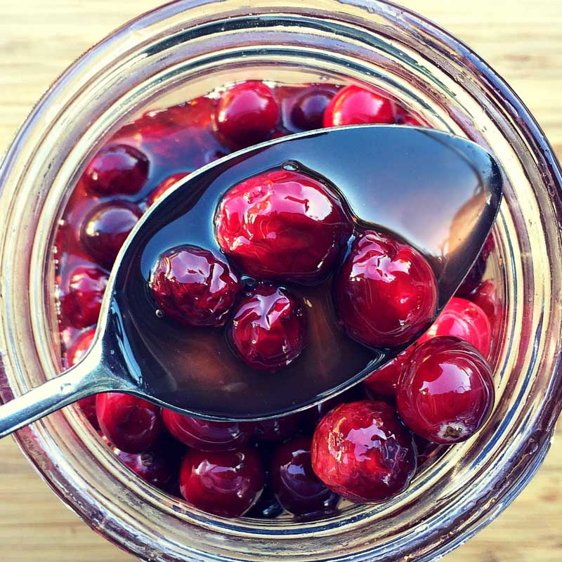 Honey Fermented Cranberries