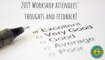 Our workshop attendees' thoughts and feedback!